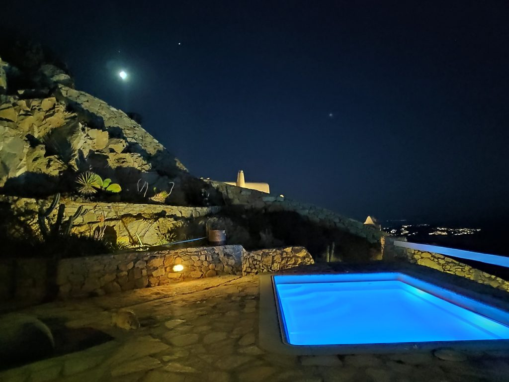 heating private pool