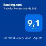 award mermaid luxury villa aquata